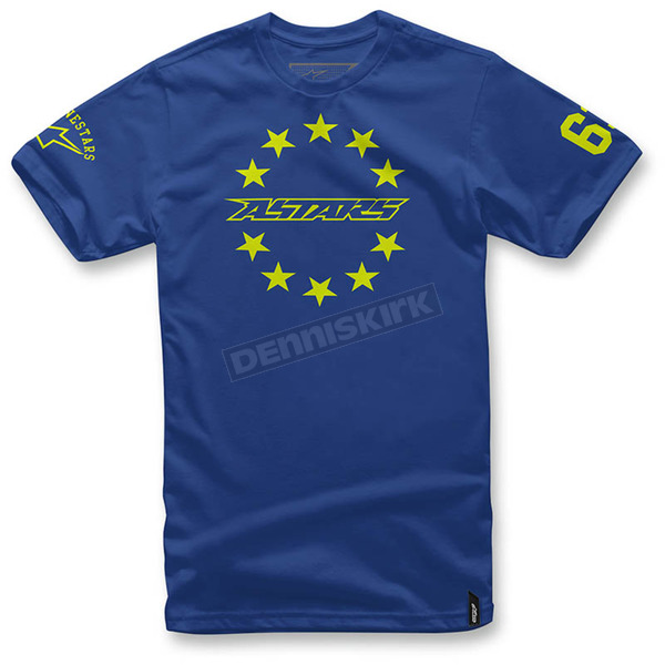 Alpinestars Royal Blue Ace T-Shirt  - 103672012-79L