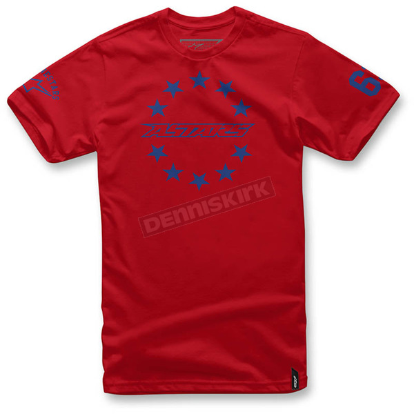 Alpinestars Red Ace T-Shirt  - 103672012-302X