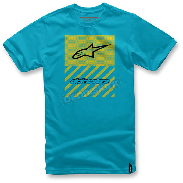 Alpinestars Turquoise Fact T-Shirt  - 103672007-76M