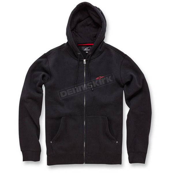 Alpinestars Black Legacy Fleece Hoody - 103653008-10L