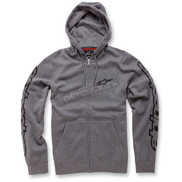 Alpinestars Heather Gray Determine Fleece Hoody - 103653010-1112X