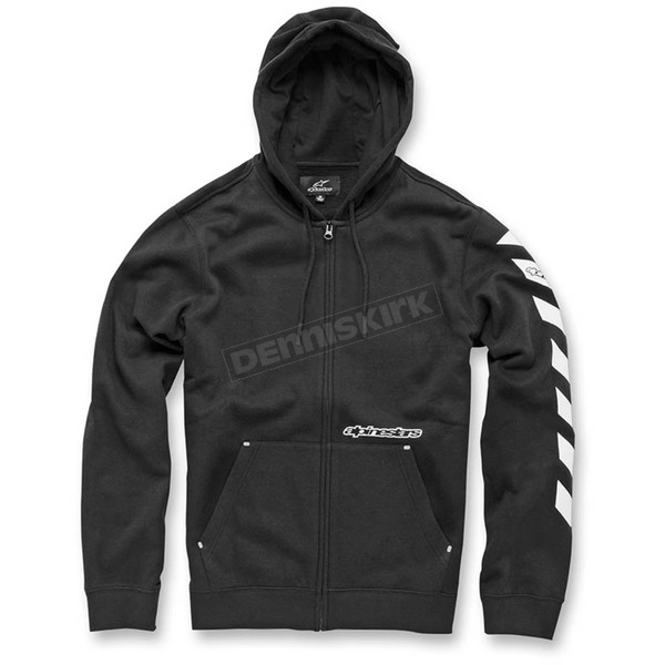 Alpinestars Black Debrief Fleece Hoody - 103653009-102X