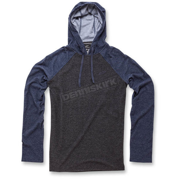 Alpinestars Black Quest Long Sleeve Knit Hoody - 103642011-102X