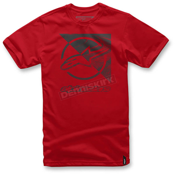 Alpinestars Red Rift T-Shirt  - 1036-72006-30M