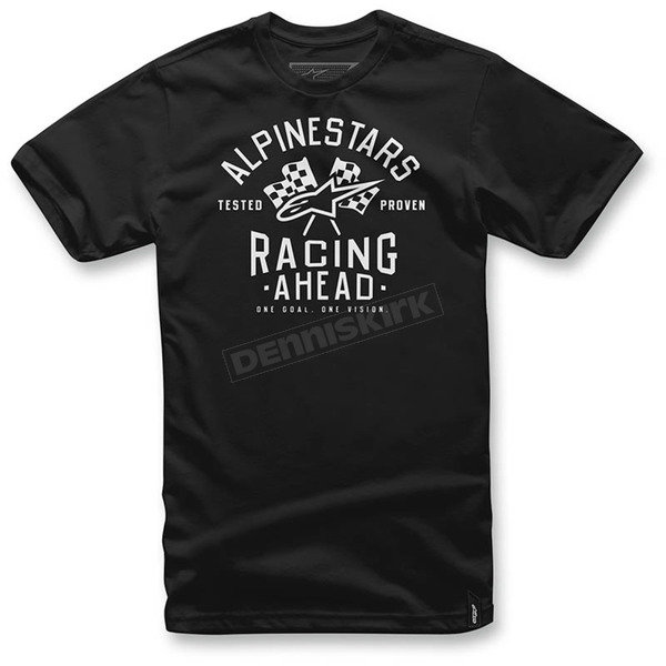 Alpinestars Black Ahead T-Shirt  - 1036-72009-10S