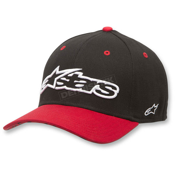 Alpinestars Black Rep Hat - 1036-81011-10SM