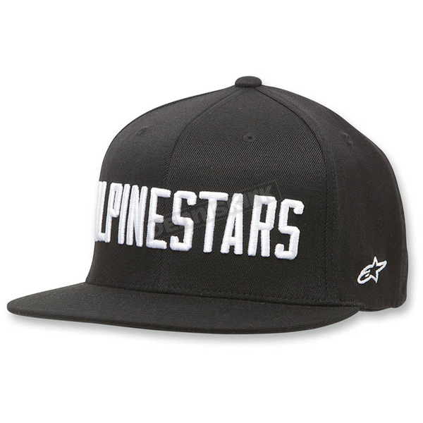 Alpinestars Black Big Word Hat - 1036-81018-10SM