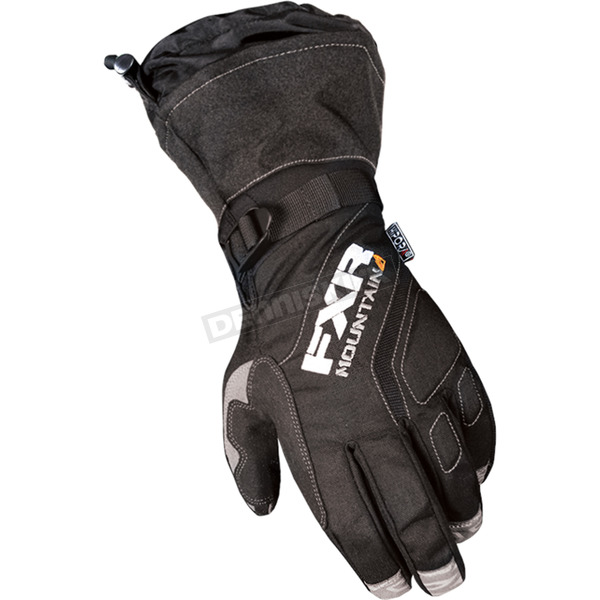 FXR Racing Black Attack Lite Gauntlet Glove - 13620.10007