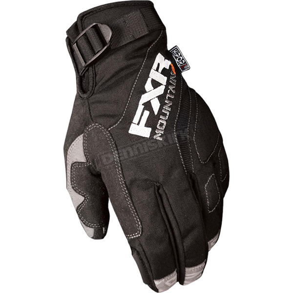 FXR Racing Black Attack Lite Glove - 15624.10007