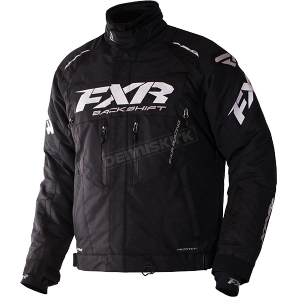 FXR Racing Black Backshift Pro Jacket - 170000-1000-14