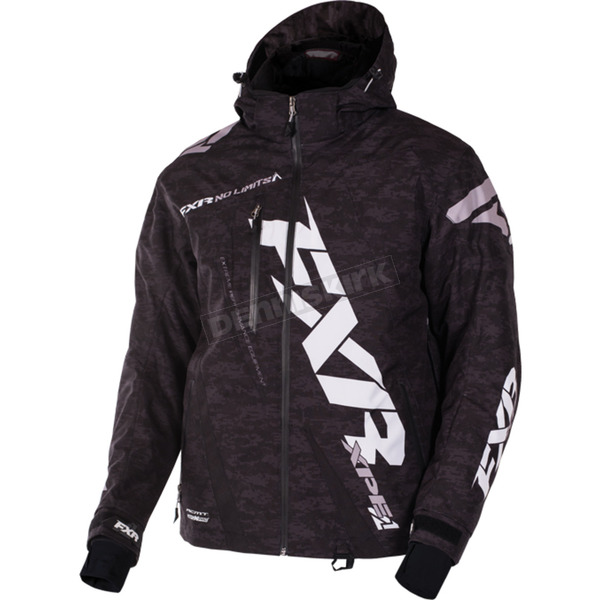 FXR Racing Black Digi Boost Jacket - 170011-1100-19
