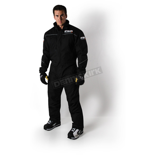 FXR Racing Black Hardware Monosuit - 172808-1000-13