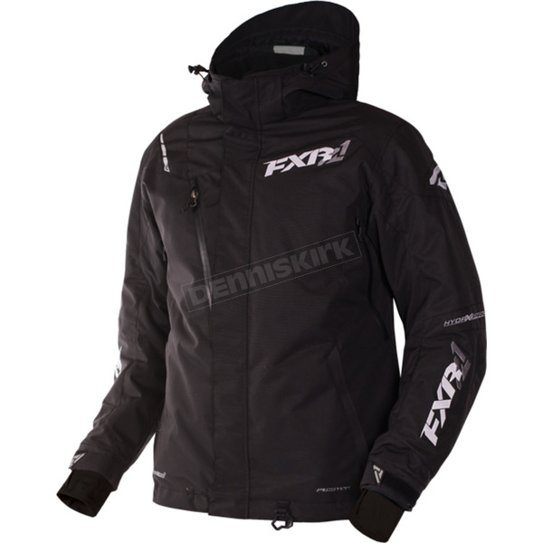 FXR Racing Black Mission X Jacket - 170008-1000-07