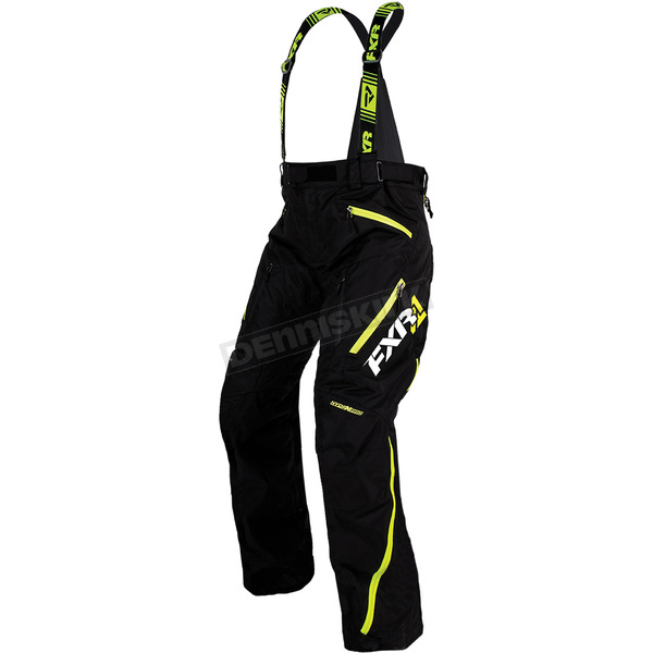 FXR Racing Black-Hi-Vis Renegade X Pants - 170107-1065-10