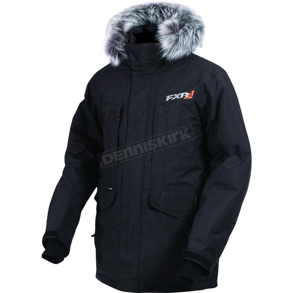 FXR Racing Black Svalbard Parka - 170022-1000-13