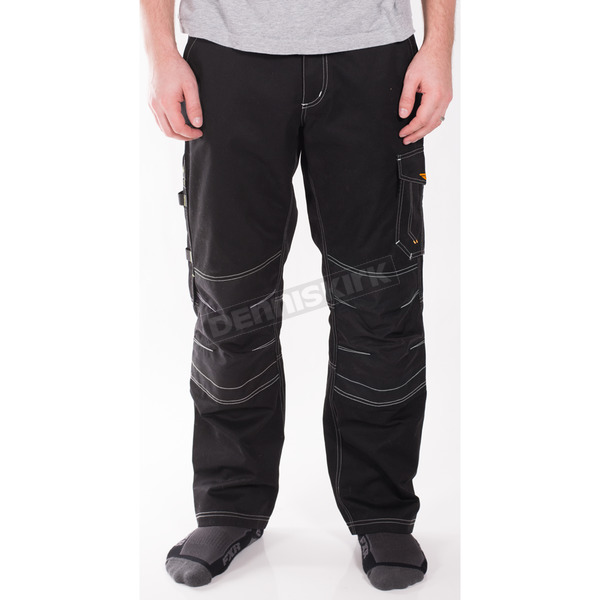 FXR Racing Black Workwear Cargo Pants - 171323-1000-36