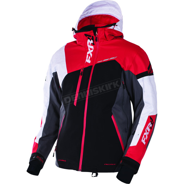 FXR Racing Black/Charcoal/Red Renegade X Jacket - 170012-1020-16