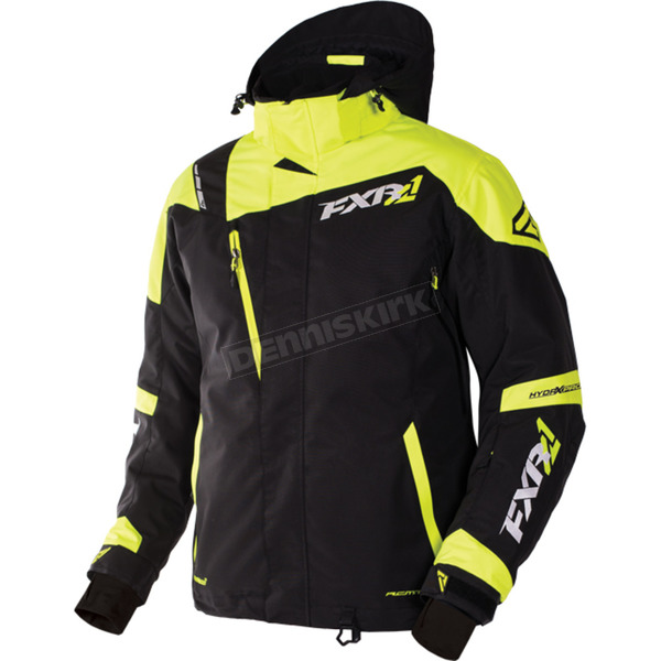 FXR Racing Black/Hi-Vis Mission X Jacket - 170008-1065-10