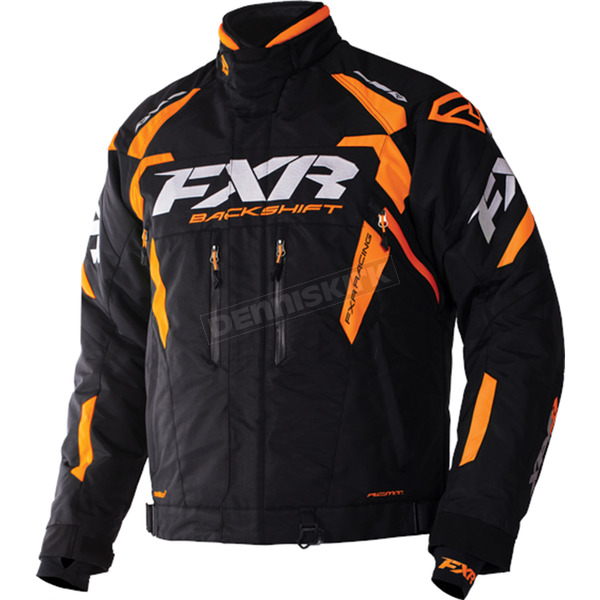 FXR Racing Black/Orange Backshift Pro Jacket - 170000-1030-19