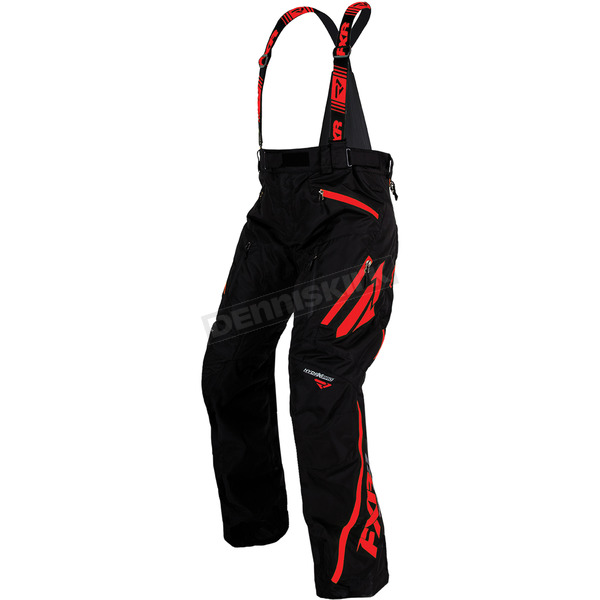 FXR Racing Black/Red Mission X Pants - 170112-1020-19