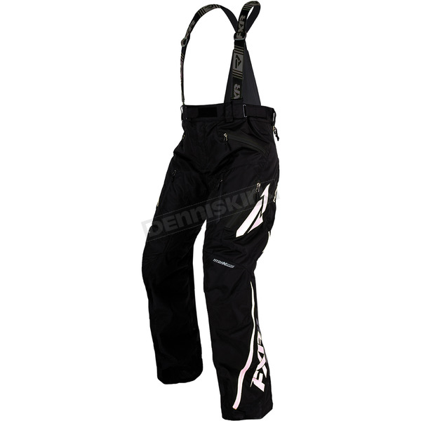 FXR Racing Black/White Mission X Pants - 170112-1001-17