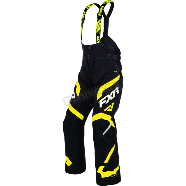 FXR Racing Black/Yellow Team FX Pants - 170105-1060-13