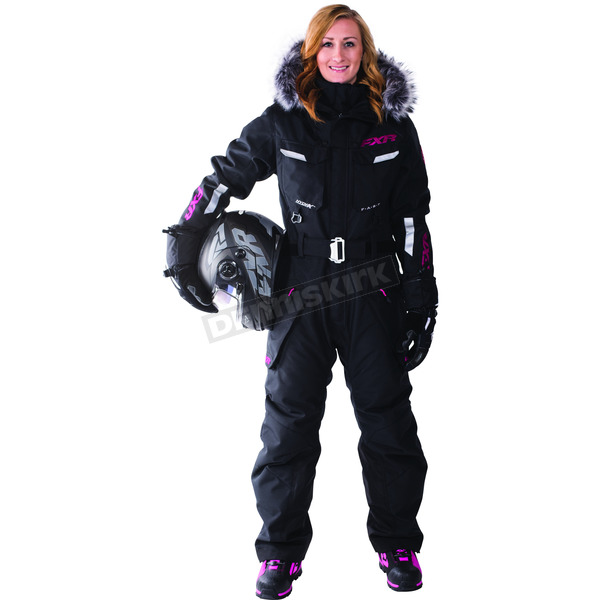 FXR Racing Women's Black Svalbard Monsuit - 172900-1000-14S