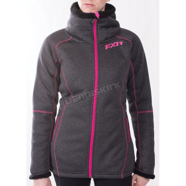 FXR Racing Women's Clipper Sherpa Tech Zip Up - 171000-0890-04