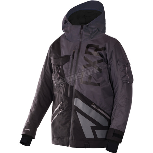 FXR Racing Charcoal/Black Maverick Jacket - 170026-0810-16