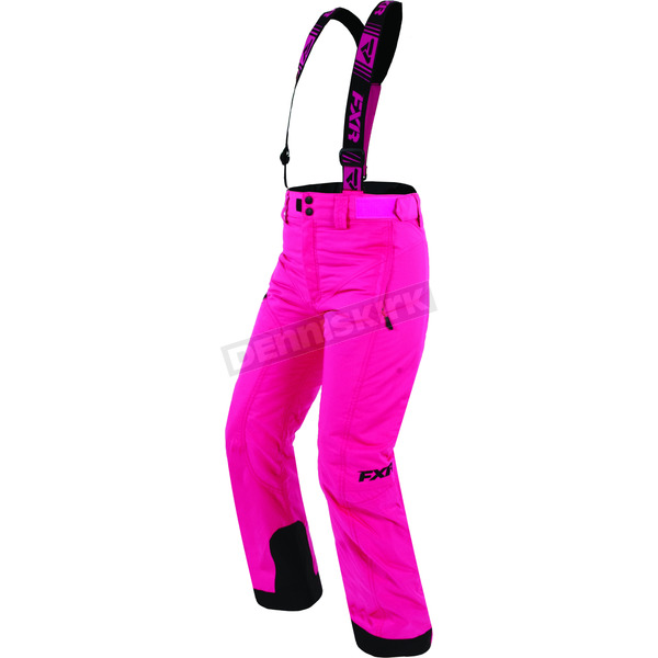 FXR Racing Child's Fuchsia Squadron Pants - 170501-9000-08