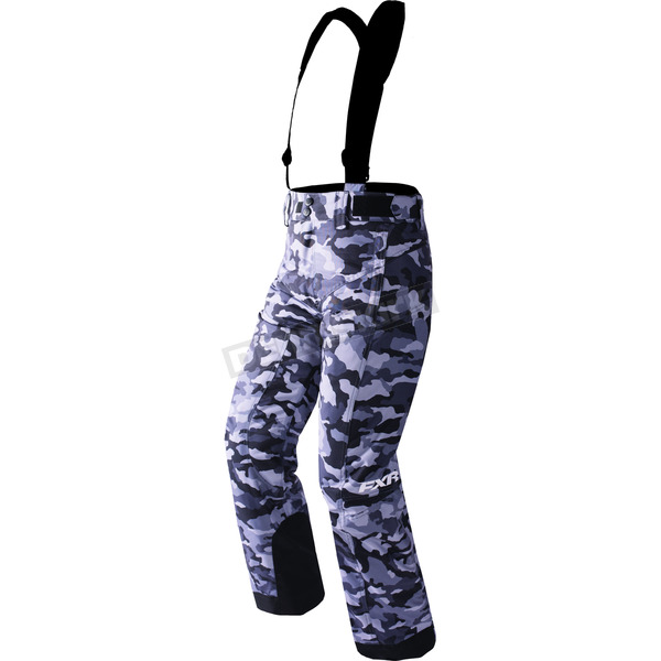 FXR Racing Child's Gray Urban Camo Squadron Pants - 170501-0600-06