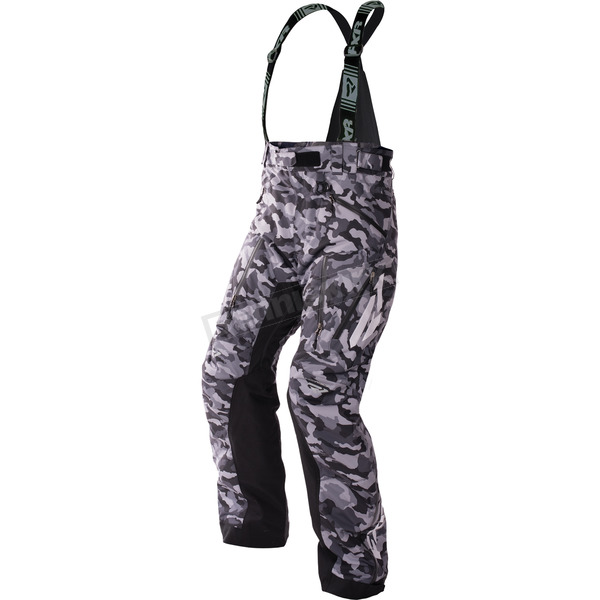 FXR Racing Gray Urban Camo/Black/Hi-Vis Mission X Pants - 170112-0600-16