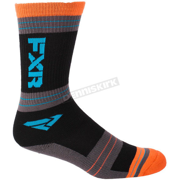 FXR Racing Women's Multi Color Turbo Athletic Socks - 171641-9055-00