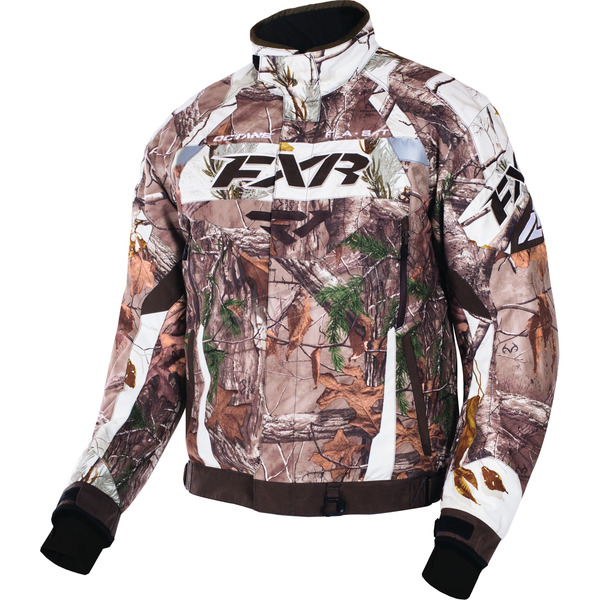 FXR Racing Realtree Xtra/AP Snow/Brown Octane Jacket - 170006-1602-22