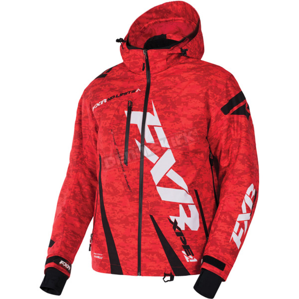 FXR Racing Red Digi/Black Boost Jacket - 170011-2110-16