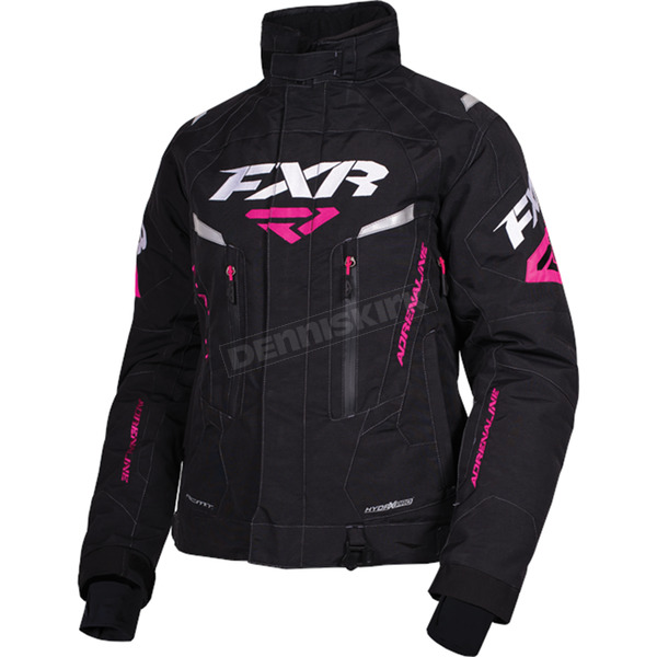 FXR Racing Women's Black Adrenaline Jacket - 170210-1000-04