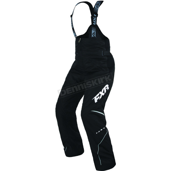 FXR Racing Women's Black Team Pant - 170301-1000-24