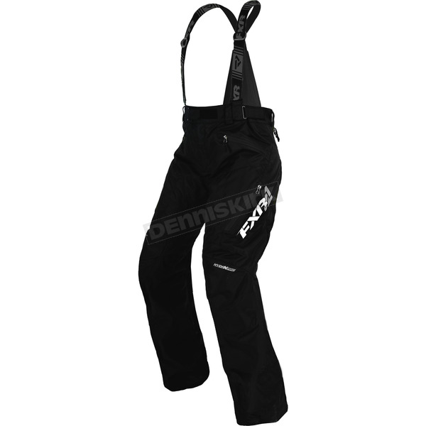 FXR Racing Women's Black Uninsulated Vertical Pro Pants - 170305-1000-16