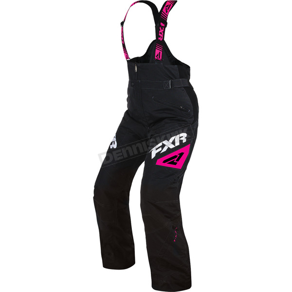 FXR Racing Women's Black/Fuchsia Adrenaline Pants - 170300-1090-14S