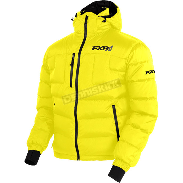 FXR Racing Yellow Elevation Down Jacket - 170030-6000-13