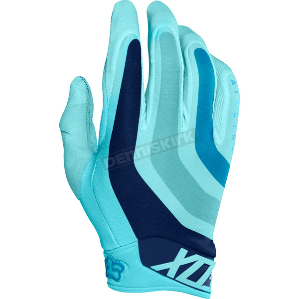 Fox Ice Blue Flexair Seca LE Gloves - 18229-231-2X