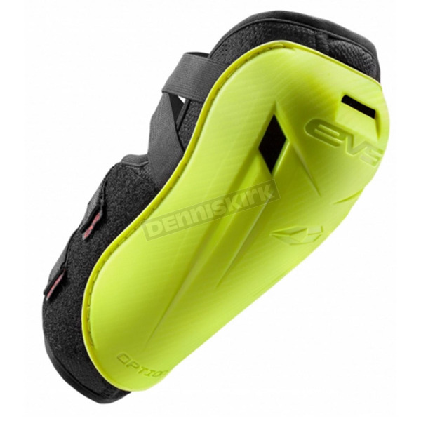 EVS Sports Youth Hi Viz Yellow Option Elbow Guard - OPTE16-HVY-Y