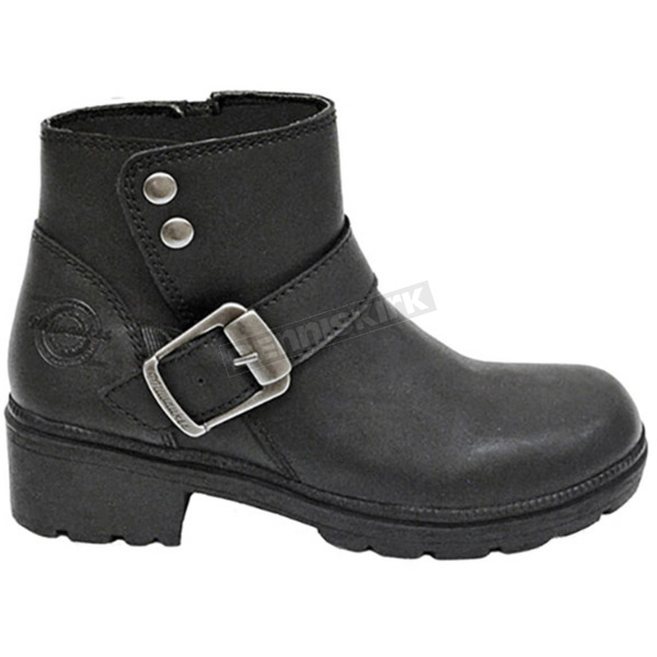 Milwaukee Motorcycle Clothing Co. Women's Black Capri Boots - MB25419