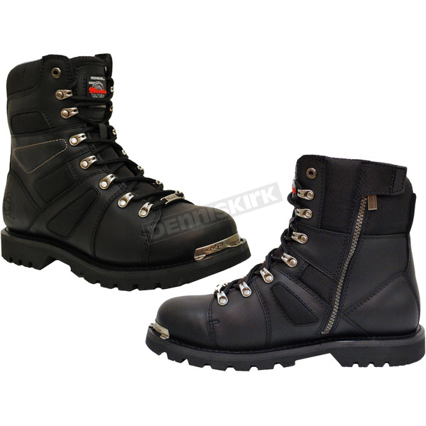 Milwaukee Motorcycle Clothing Co. Black Ranger Boots - MB45726