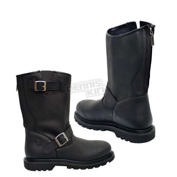 Milwaukee Motorcycle Clothing Co. Black Raider Boots - MB45921