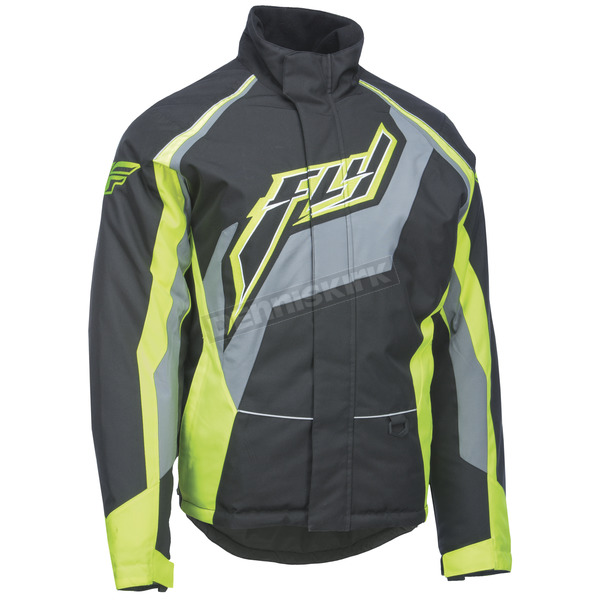 Fly Racing Black/Gray/Hi-Vis Outpost Jacket - 470-4019S