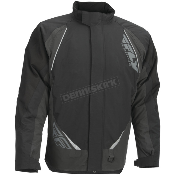 Fly Racing Black/Gray Aurora Jacket - 470-40003X