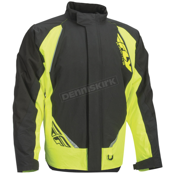 Fly Racing Black/Hi-Vis Aurora Jacket - 470-4009M