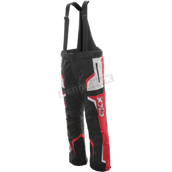 CKX Black/Red/Silver Rush Racing Snow Pants - M17404_BKRD_M