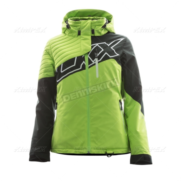 CKX Women's Charged Green/Black Mirage Backcountry Jacket - L17305_CHGRBK_L